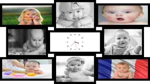 Doves - Ezdoss photo collage Template