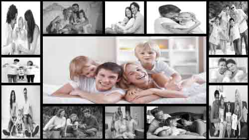 Photo Collage - Ezdoss photo collage Template